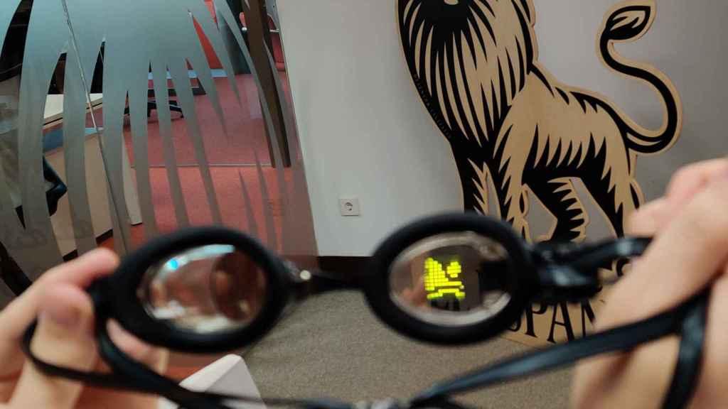 La realidad aumentada ya se usa en algunos dispositivos, como gafas de natación