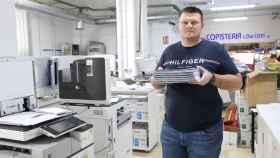Bogdan Brie (36), el dueño de Copisterías Low Cost.