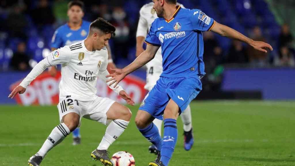 Brahim Díaz fue el mejor del equipo ante el Getafe en el partido de la temporada pasada