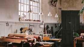 El hogar estudio de David y Melina es Oficio Studio.