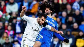 Carvajal en el Getafe-Real Madrid