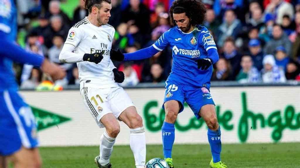 Cucurella, en el Getafe - Real Madrid de La Liga