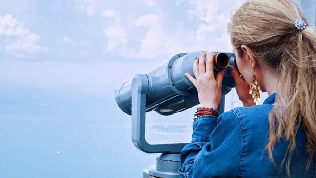 catalejo prismaticos vista