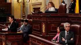 Suárez Illana da la espalda a la portavoz de EH Bildu en el Congreso.