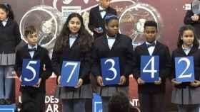 Primer premio de la Lotería del Niño.