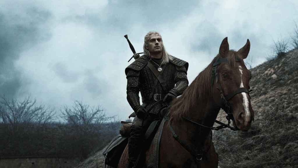 Geralt con su caballo... Sardinilla
