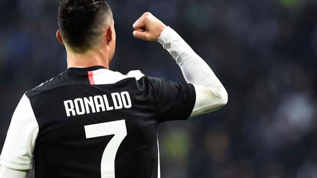 Cristiano Ronaldo, en un partido de la Juventus de Turín