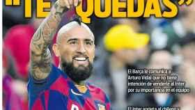 La portada del diario Sport (06/01/2019)