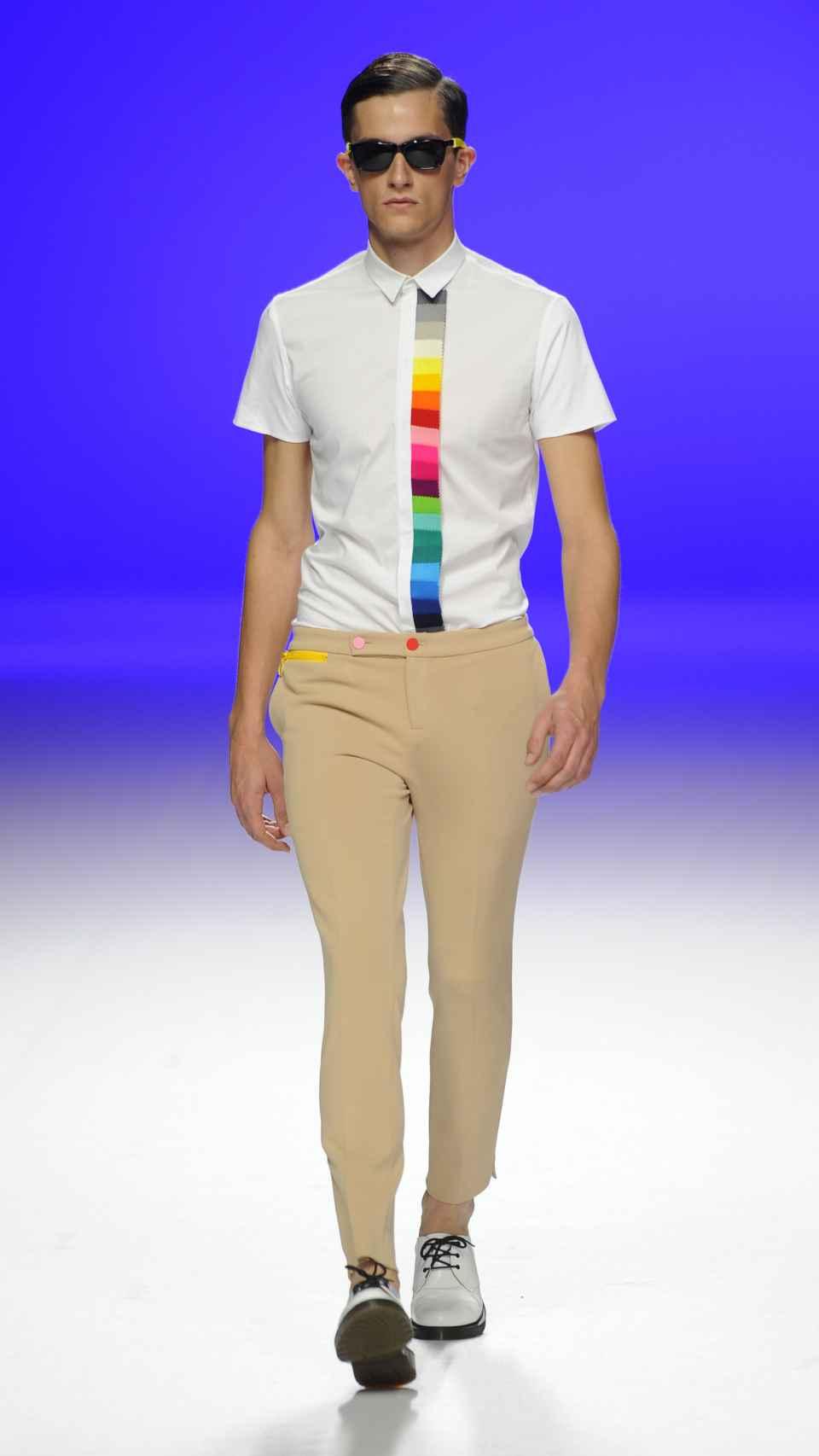 David Delfín entendía la moda como parte de la cultura.