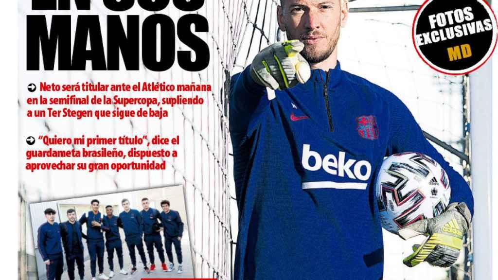 Portada Mundo Deportivo (08/01/2020)
