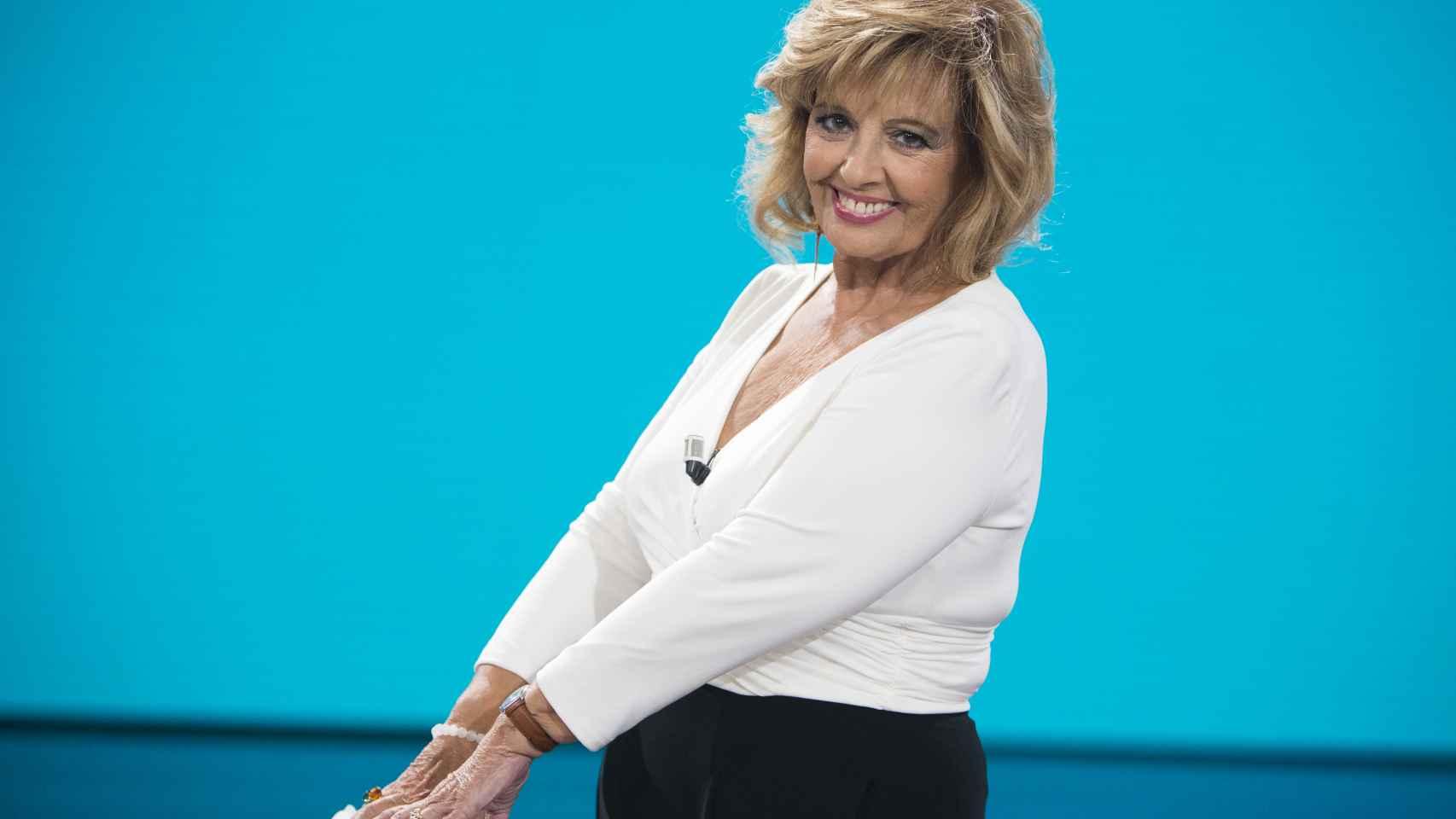 María Teresa Campos en una imagen de archivo.