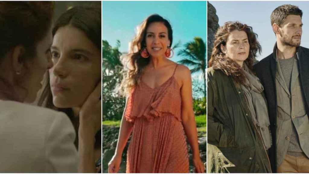 'Cuéntame',  'La isla de las tentaciones' y 'El cazafortunas' competirán el jueves.