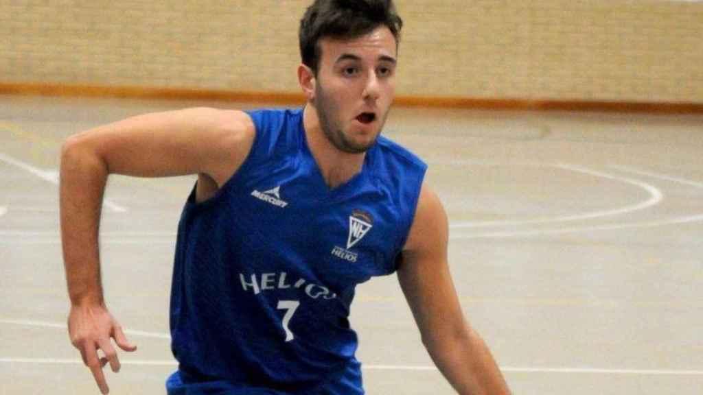 Miguel Gimeno, jugador del Helios Zaragoza