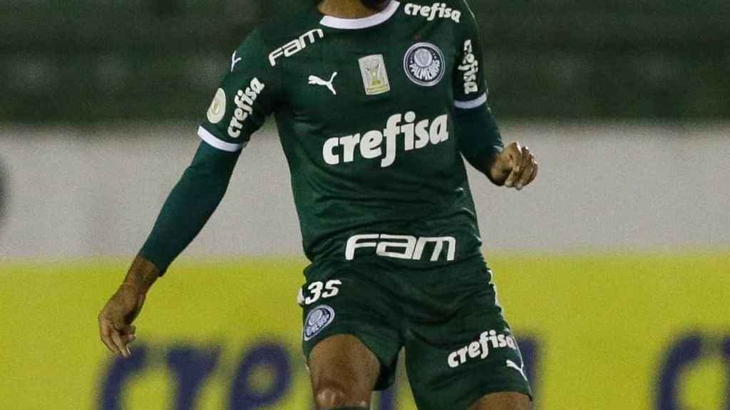 Matheus Fernandes, futbolista del Palmeiras
