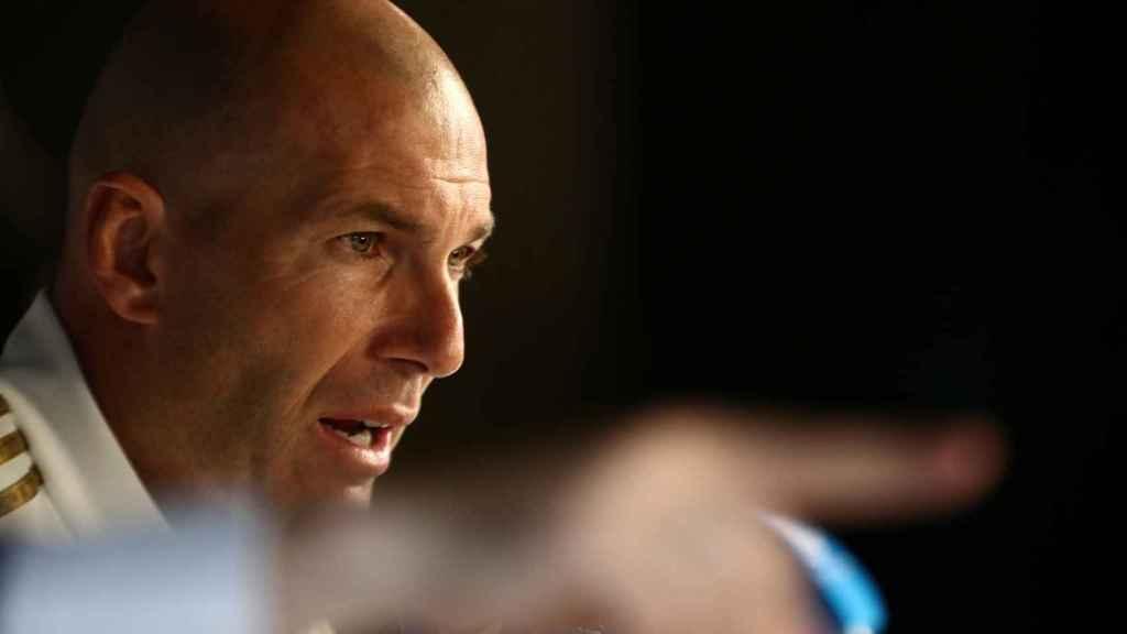 Zidane, en rueda de prensa previa a la Supercopa de España