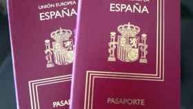 Un pasaporte español.