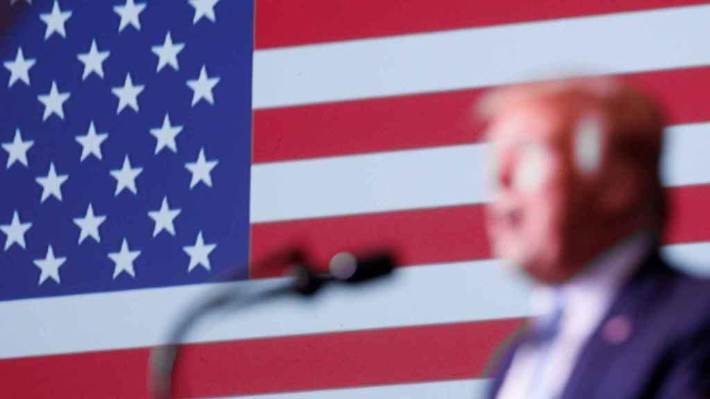 Trump durante un acto en Miami
