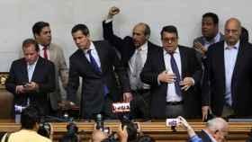 Guaidó este martes en el Parlamento venezolano