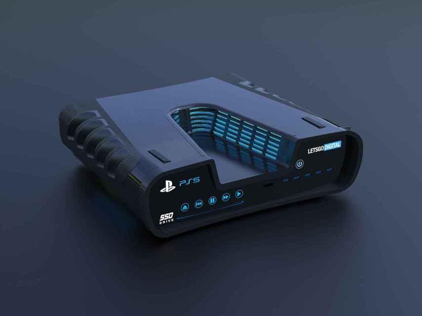 Concepto de la PS5.