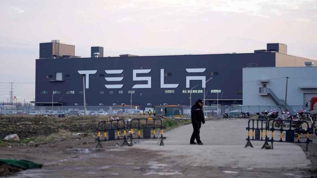 Nueva fábrica de Tesla en Shanghái. La de Berlín será similar