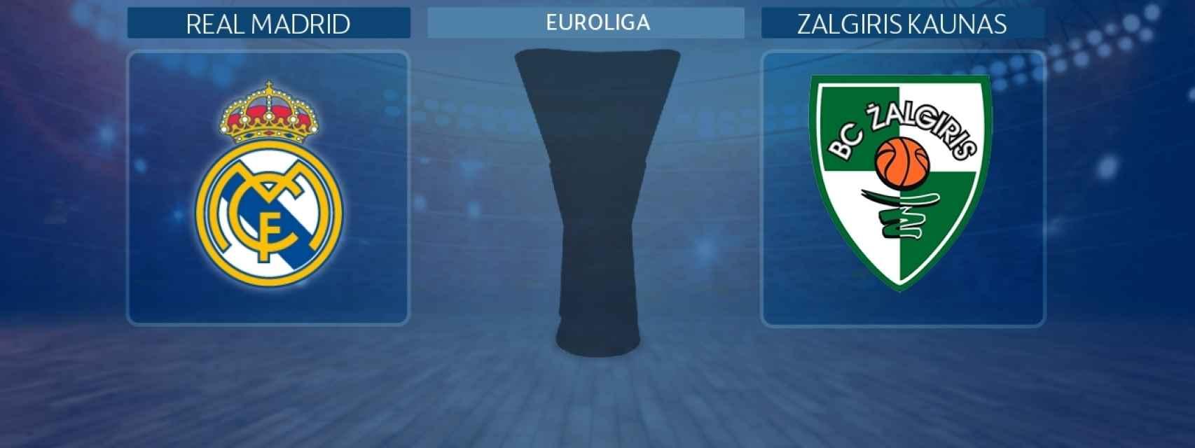 Real Madrid - Zalgiris Kaunas