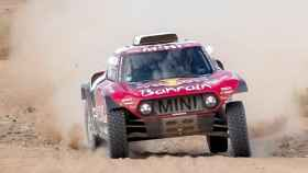 Carlos Sainz, en la cuarta etapa del Rally Dakar