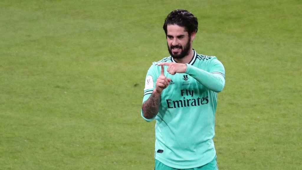 Isco Alarcón dedica su gol al Valencia a su hijo Theo
