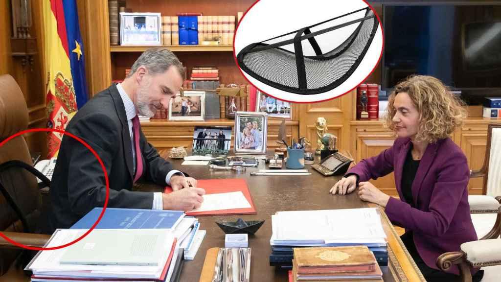 Felipe Vi firma el Real Decreto por el que nombra presidente del Gobierno a Pedro Sánchez.