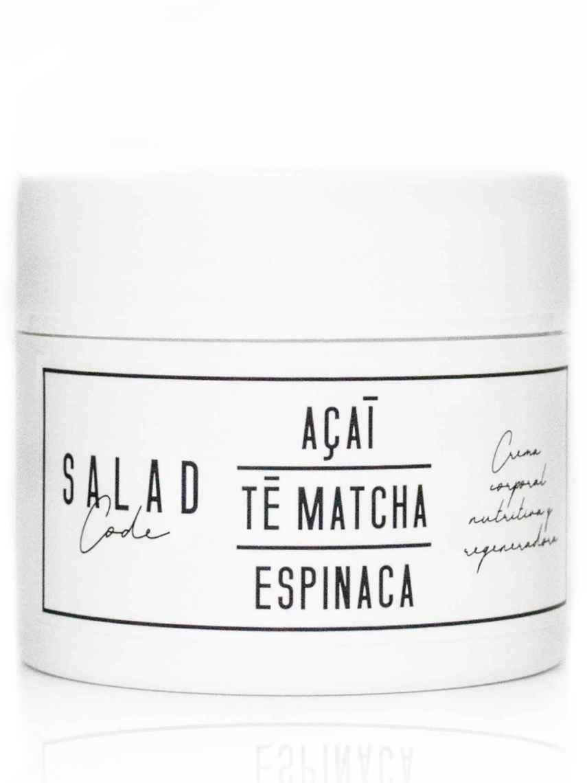Crema corporal nutritiva y regeneradora de Salad Code.