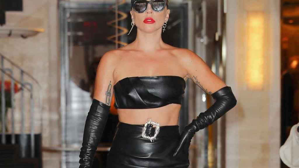 Lady Gaga, en una de sus últimas apariciones públicas.