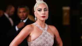 Lady Gaga, en  una alfombra roja.