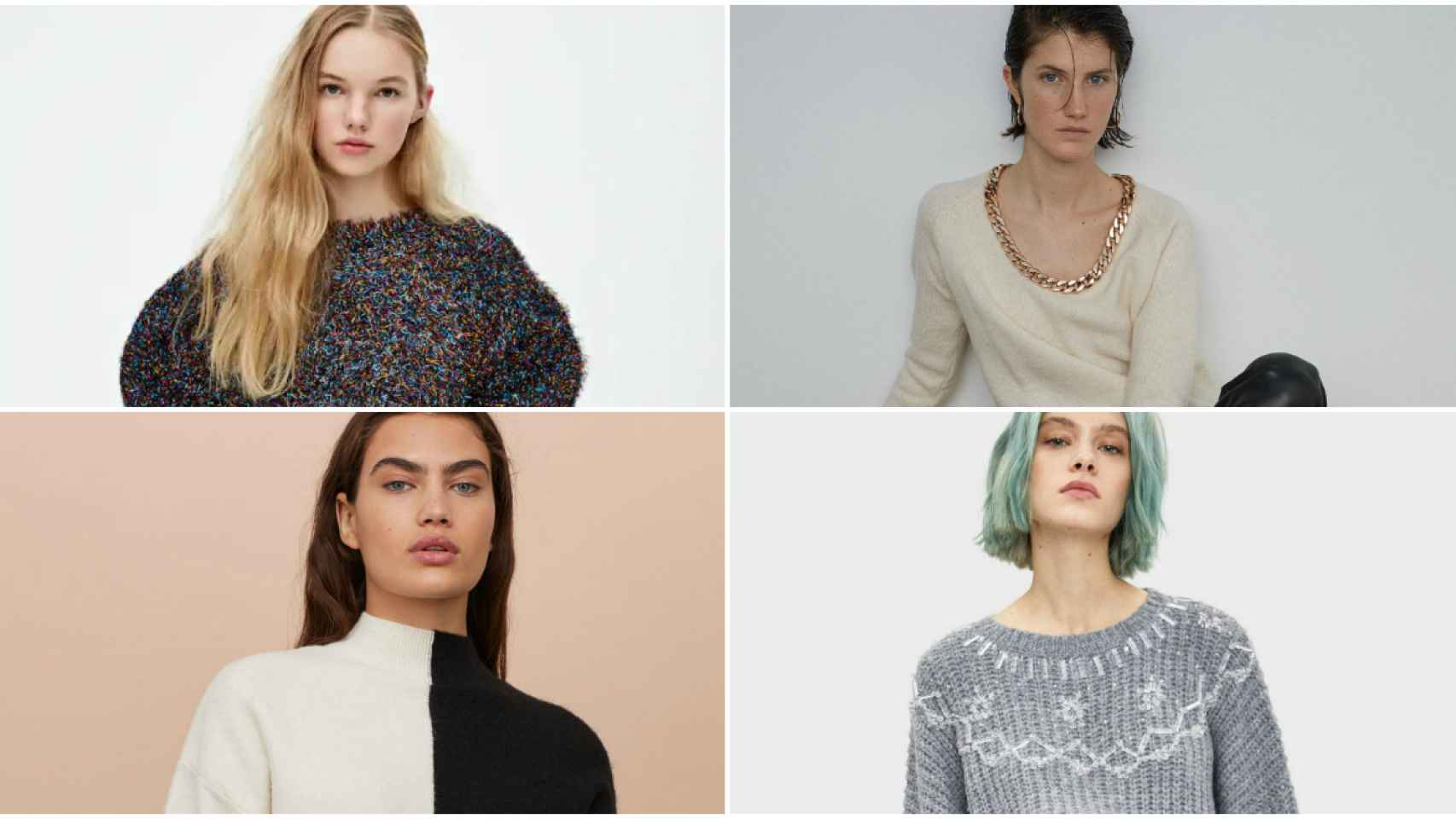 El punto ha llegado para salvarte: los 10 jerséis que necesitas en tu armario este invierno