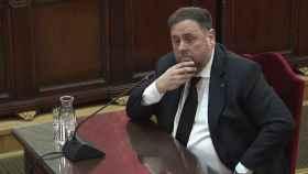 Oriol Junqueras, durante el juicio del 'procés'./