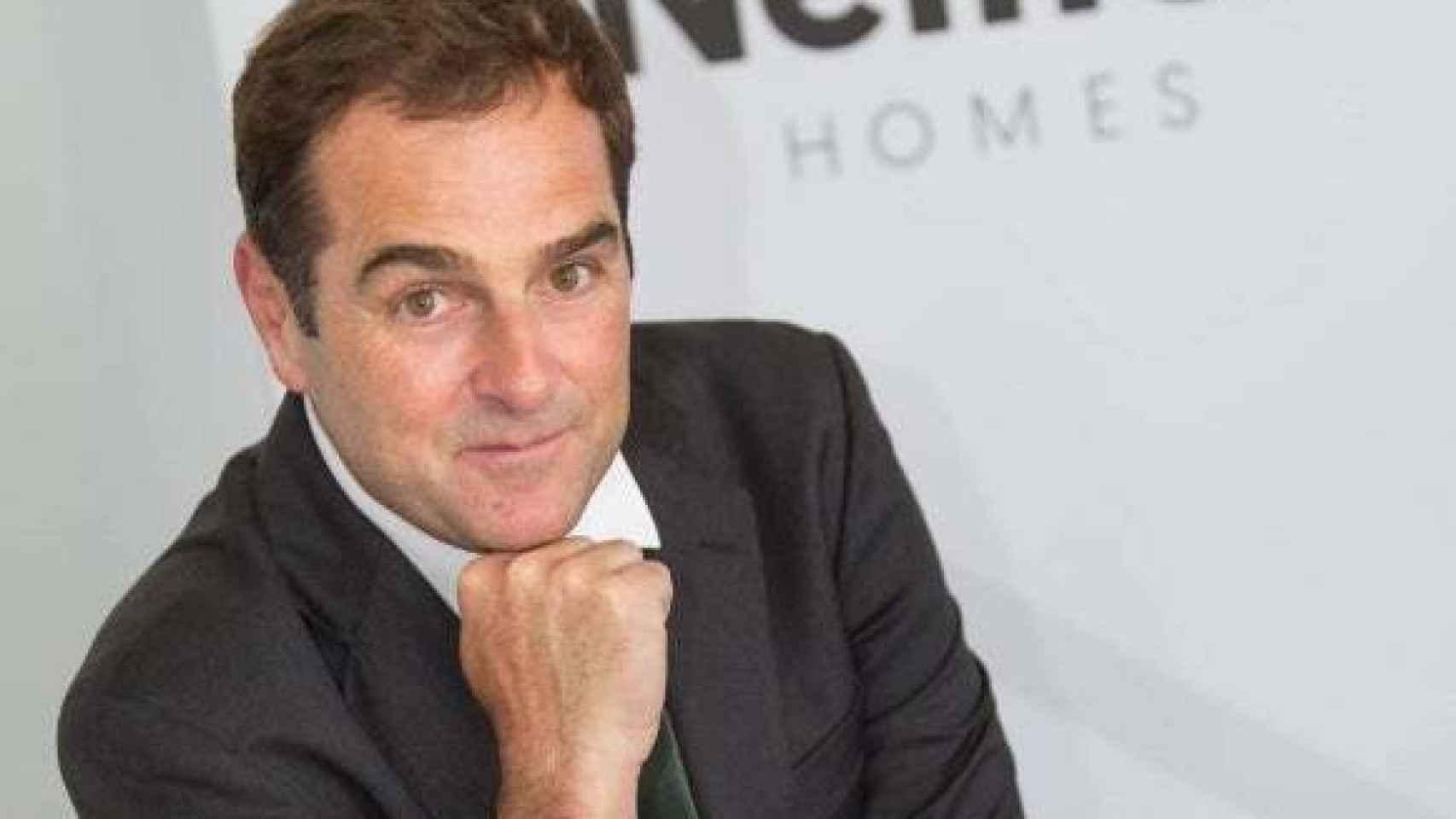 El CEO de Neinor Homes, Borja García-Egotxeaga.