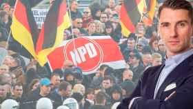 Frank Franz es el líder del partido neonazi alemán