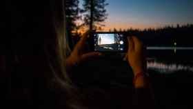 foto nocturna iPhone