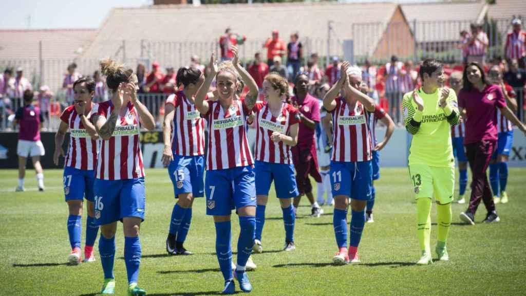 El Atlético femenino, campeón de Liga 2018/2019