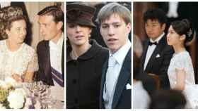 Tres parejas 'royals' que renunciaron a sus privilegios por amor, en un montaje de JALEOS.