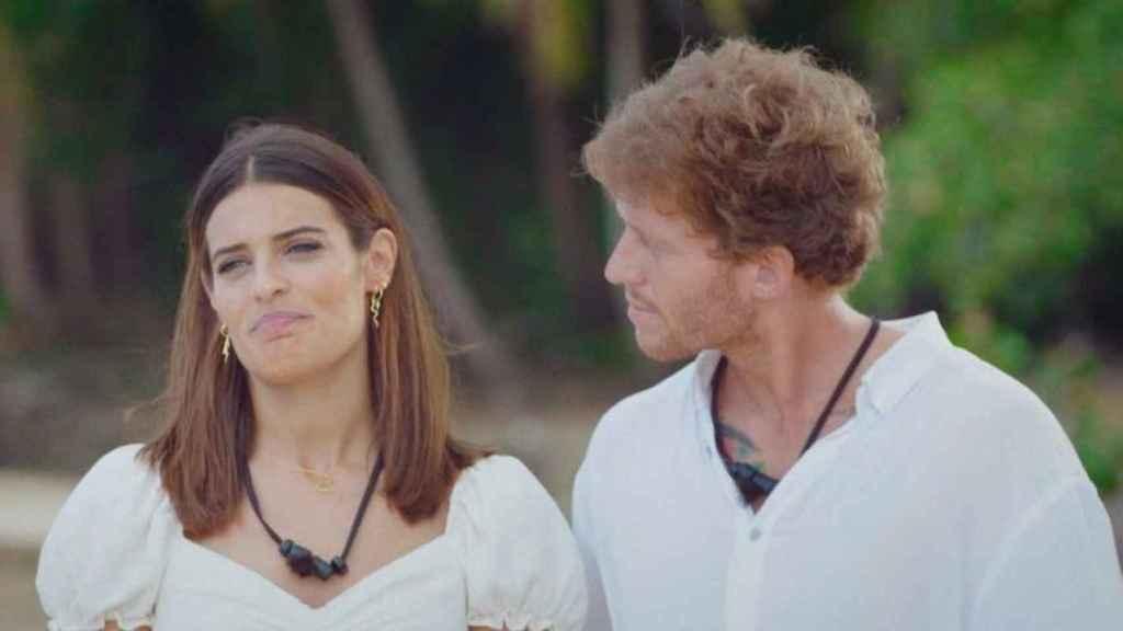 Gonzalo y Susana en 'La Isla de las tentaciones'.