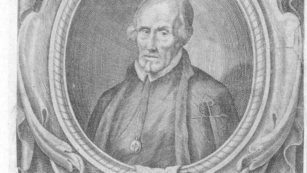 Retrato de Pedro Calderón de la Barca.