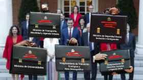 Este domingo Pedro Sánchez hará públicas las carteras ministeriales, que estarán realizadas por un estudio de Madrid.