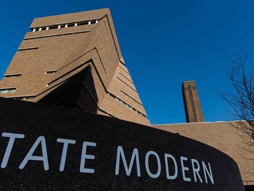 Fachada de la Tate Modern de Londres, donde presuntamente se perpetró el ataque.