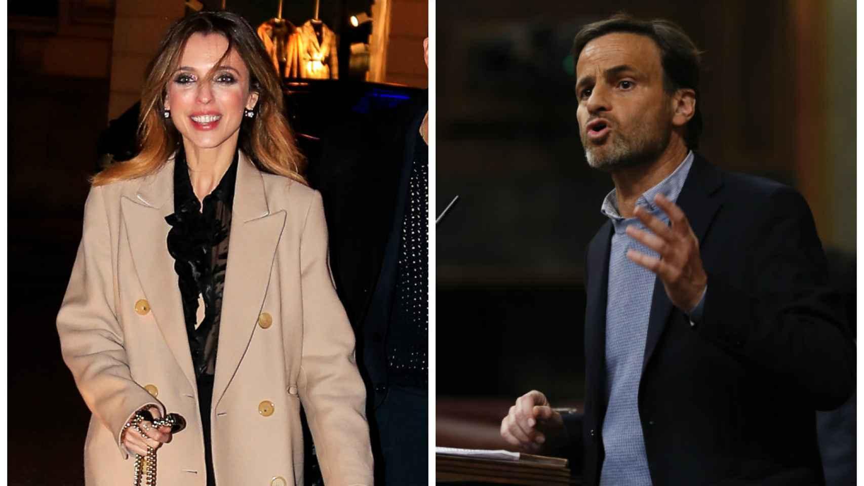 Leticia Dolera y Jaume Asens en montaje de JALEOS.