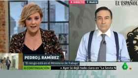 Pedro J. Ramírez, durante su intervención en 'Liarla Pardo', de La Sexta.