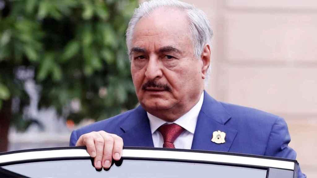 El mariscal Jalifa Hafter