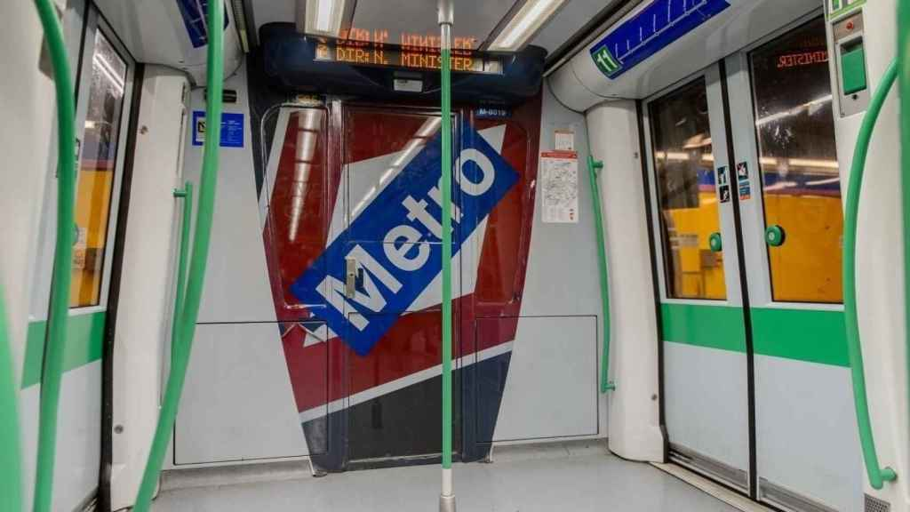 Metro de Madrid.