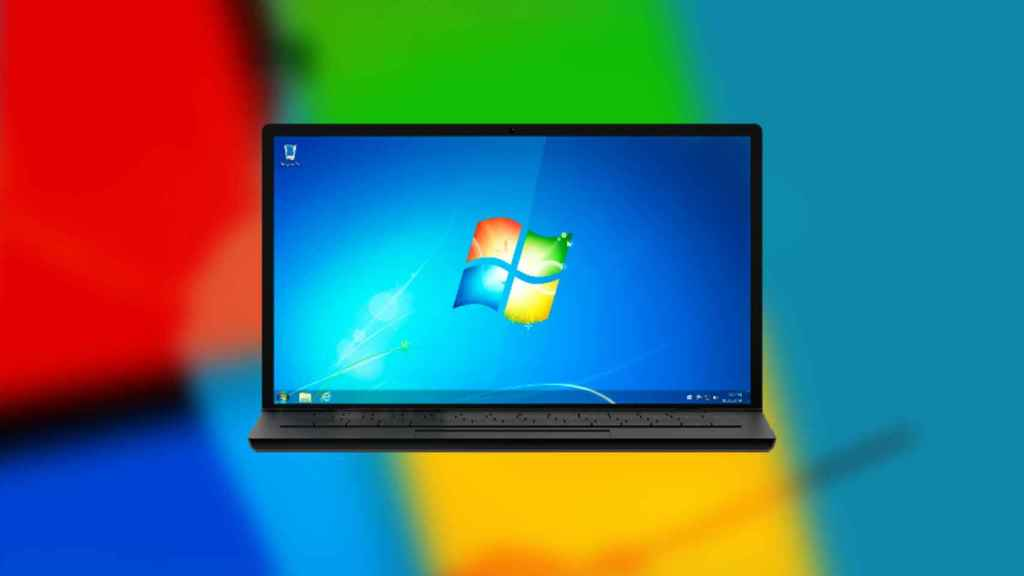 Ordenador con Windows 7