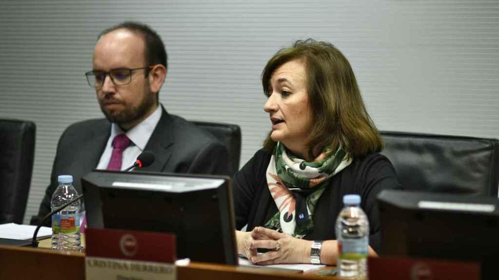 Cristina Herrero en una imagen de archivo.