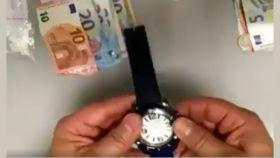 Reloj intervenido por la Policía Local de Canarias.
