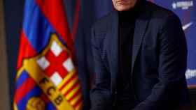 Quique Setién, presentado como nuevo técnico del FC Barcelona